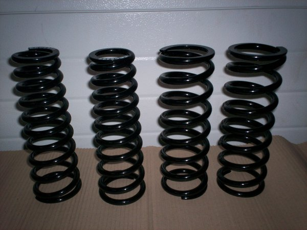 Photo of the Rear springs 85/86 turbo, X180, SE, S4 and S4S lotus spare part