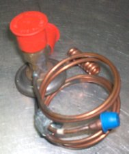 Photo of the Esprit air-conditioning expansion valve lotus spare part