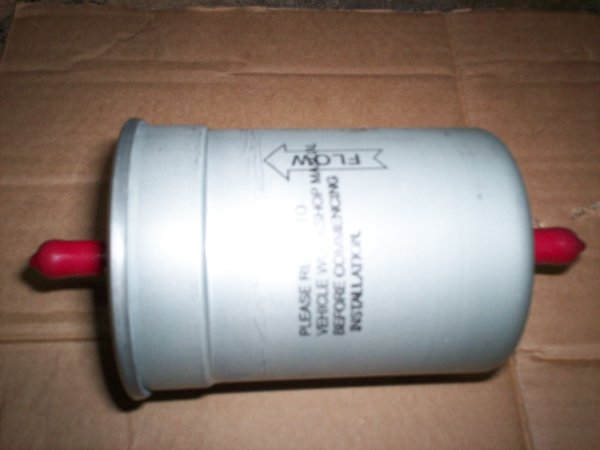 Photo of the Esprit turbo fuel filter lotus spare part